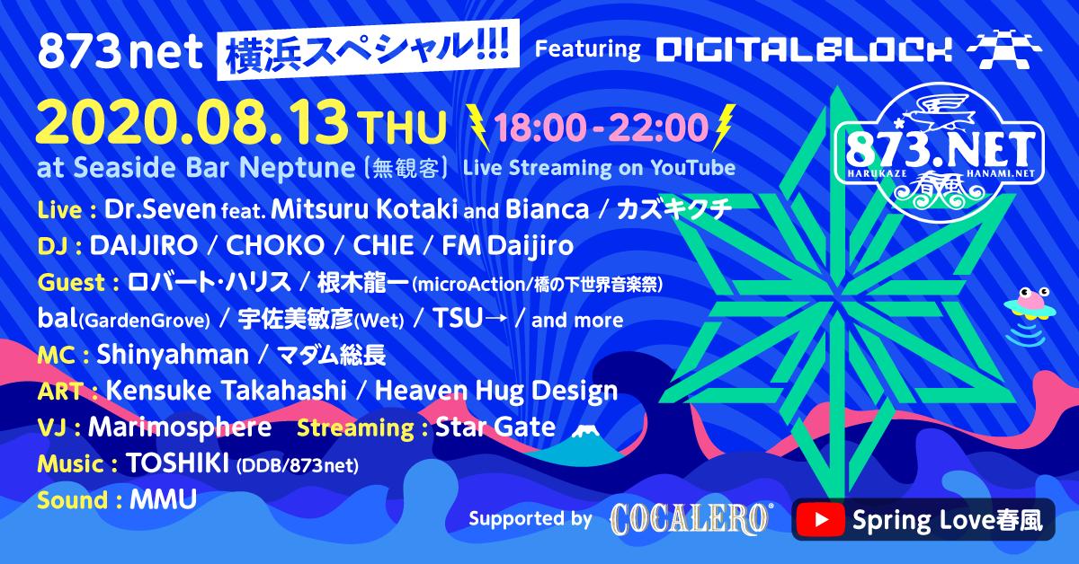"873net 横浜スペシャル!!!  Featuring  ""デジブロ"""
